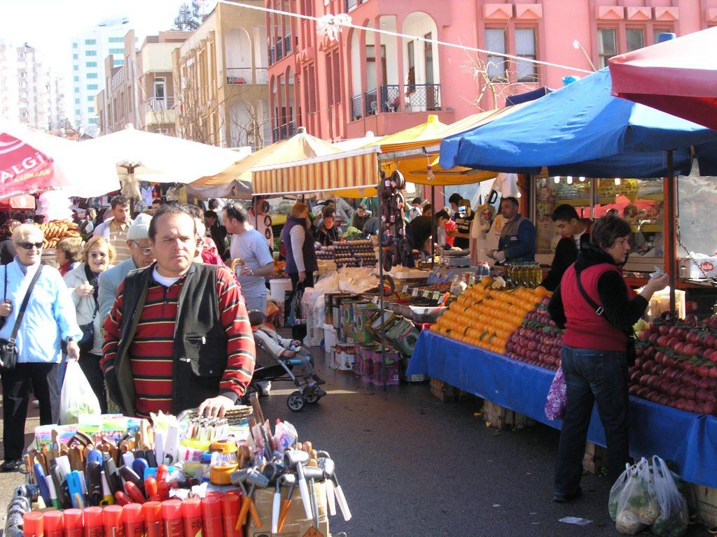 рынки и базары в Анталии
