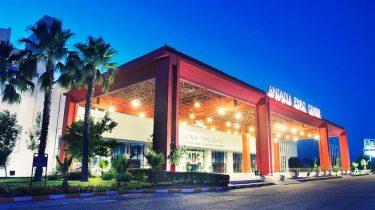 Анфаш выставочный центр expo Antalya