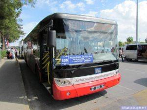 автобус в аэропорт Анталии 800 лара, кониаалты, центр