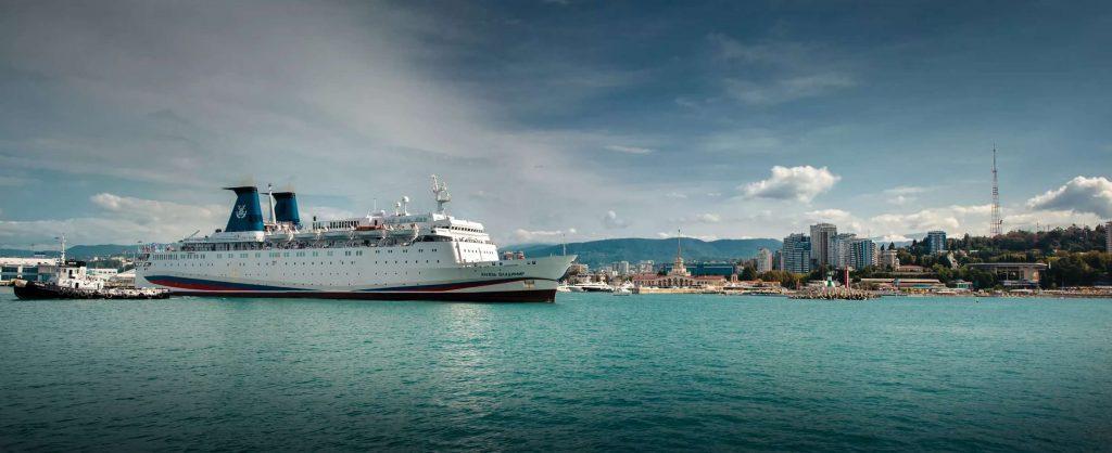 круизный лайнер Князь Владимир маршрут Россия Турция Сочи Стамбул