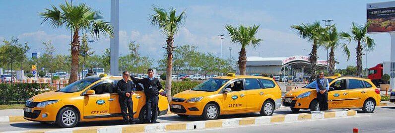 такси в аэропорту Анталии