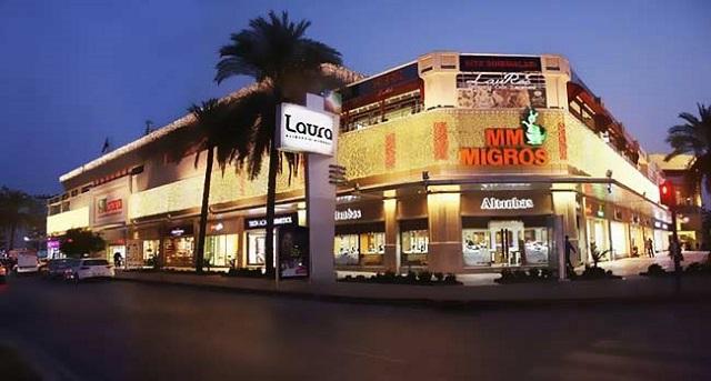 Laura -торговый центр в Анталии