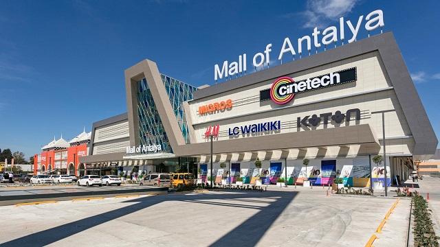 Mall of Antalya новый торговый центр рядом с аэропортом