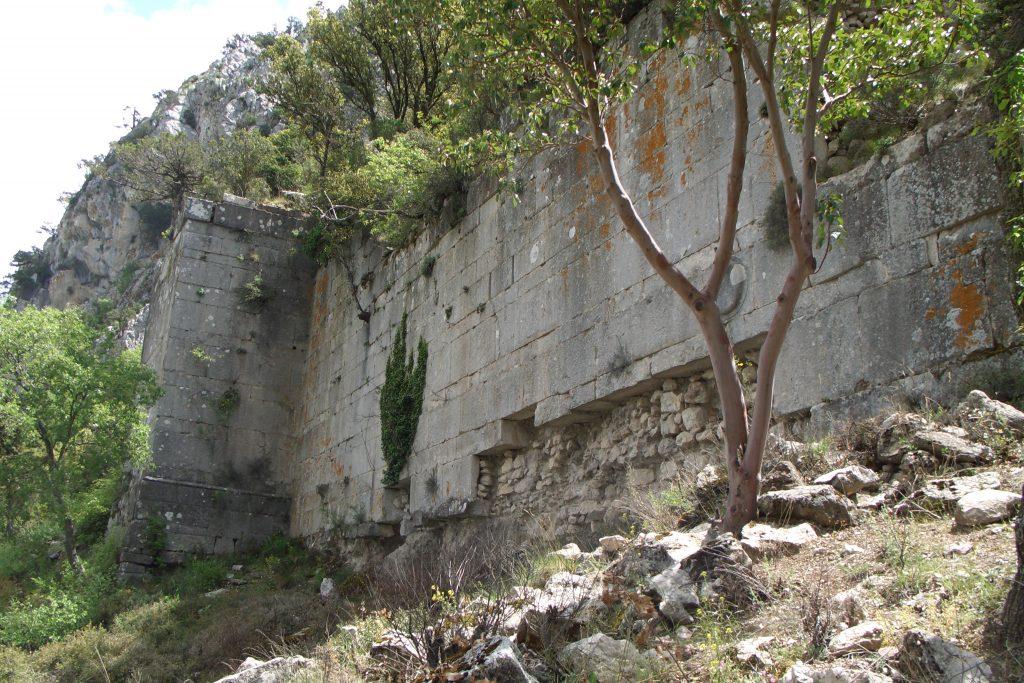 Termessos неприступная стена достопримечательности