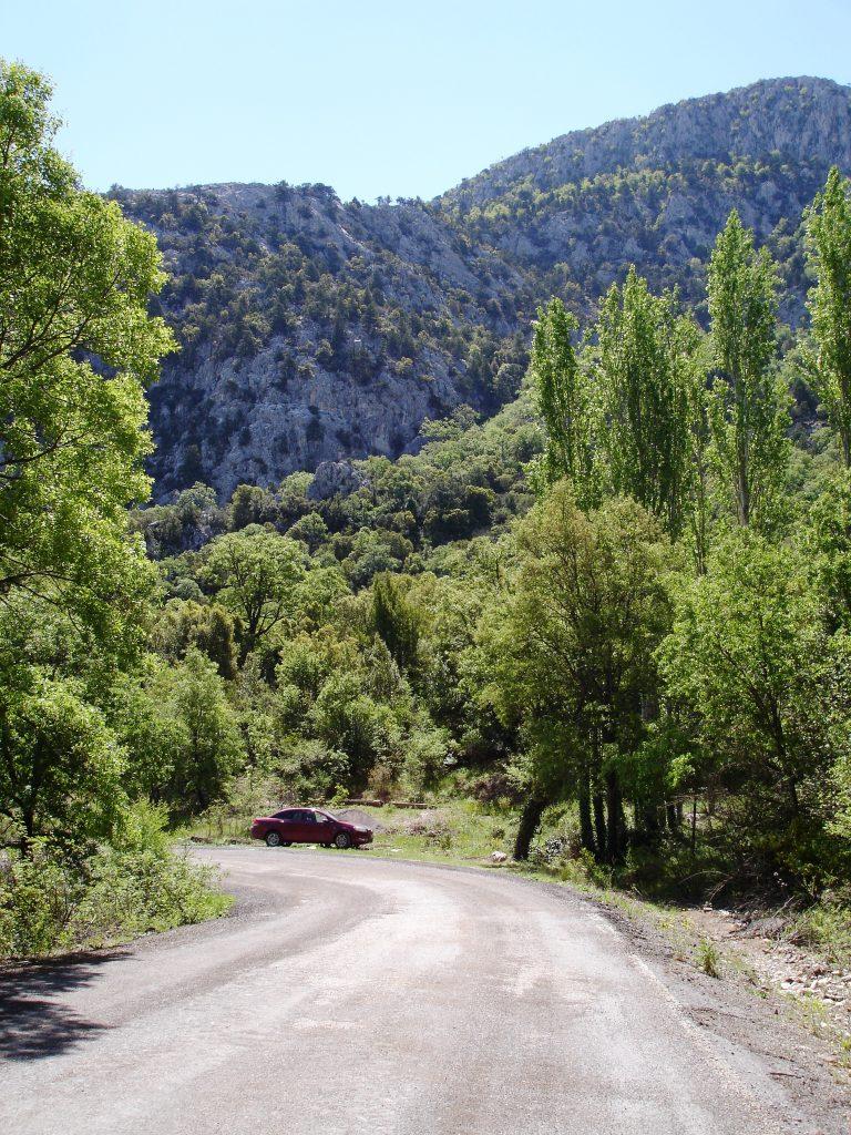 Дорога в Термессос
