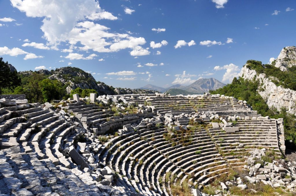 Termessos римский амфитеатр
