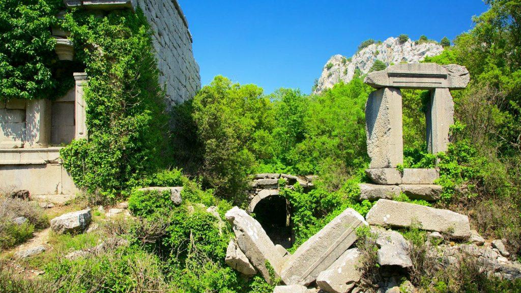 Развалины города Термесос