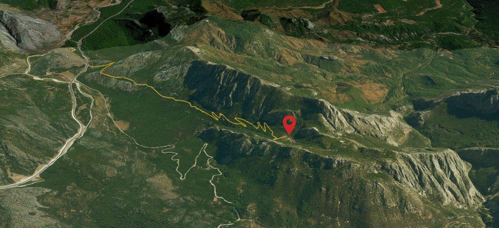 Дорога до достопримечательности Термессос