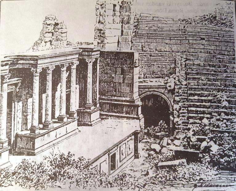 Termessos на старинных гравюрах