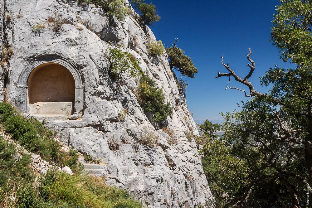 Termessos захоронения