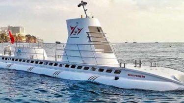 Подводная лодка в Анталии